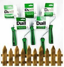 5pk Decking Paint Roller Garden Shed Fence Wood Stain Applicator Varnish Sleeve