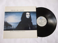 DEAD OR ALIVE ~ MAD BAD AND DANGEROUS TO KNOW ~ 1986 UK 1ST PRESS SYNTH VINYL LP
