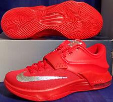 best website 69a83 f0543 Nike Kd VII 7 Global Jeux Rouge Octobre Kevin durant Taille 8 (653996-660