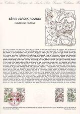 Document Philatélique Timbre  1er Jour : 02/12/ 1978 - Croix-Rouge Fables