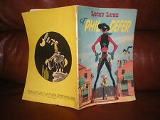 LUCKY LUKE N°8 PHIL DEFER - EDITION ORIGINALE 1956 (DERNIER TITRE DOXEY)