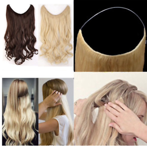 Invisible Wire No Clips Secret Fish Line Hair Extension ~ Realistic - 20 Inches