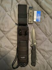 "Benchmade 141SBK Nimravus 4-1/2"" Blade Tanto Tip Fixed Plain Edge Knife"