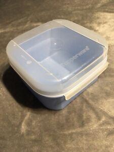 "rot Lunchbox TUPPERWARE /""/""Herzilein/"" Herz-Brotbox mit Rose NEU"