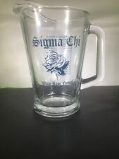 Sigma Chi White Rose Formal Glass Beer Picture Eta Iota Embry Riddle University