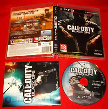 CALL OF DUTY BLACK OPS 1 Ps3 Versione Italiana 1ª Edizione  ○ COMPLETO - FH