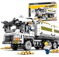 Sembo Blocksteine Engineering Transporter Gebäude Figur Spielzeug Geschenk Model