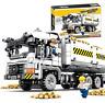 Sembo 701704 Baukästen Engineering Transporter Gebäude Figur Spielzeug Geschenk