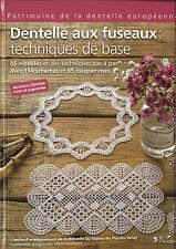 """Livre """"Dentelle aux fuseaux : techniques de base"""""""