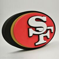 San Francisco 49ers NFL Football Official 3D Foam Logo Wall Sign