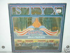 """****STYX""""PARADISE THEATRE""""-12""""Inch Laser Etched A&M Records LP****"""