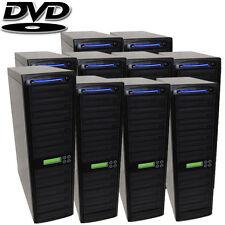 100 SATA Burner CD DVD Disc Daisy Chain Duplicator Copier Replicating System