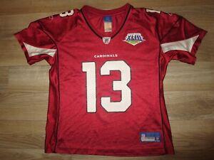 Kurt Warner Arizona Cardinals Super Bowl NFL Reebok Jersey Womens LG Large L