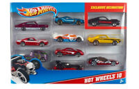 Hot Wheels Basic Car 10 Pack (Assorted Models)