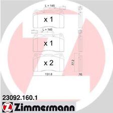 ZIMMERMANN Bremsbelagsatz 23092.160.1