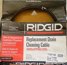 Ridgid 62225 Drain Cleaning Cable 516 In X 25 Ft