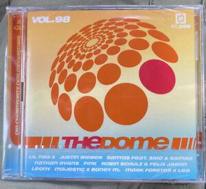The Dome Vol. 98 - 2 CD - Sampler - Various - Pop Charts Dance - 2021 NEU in OVP