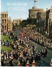 Windsor Castle - Vintage 1974 History / Travel Guide Illustrated