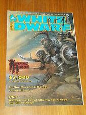 WHITE DWARF #89 ROLE-PLAYING GAMES WORKSHOP UK MAGAZINE~