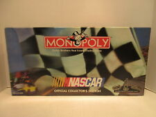 Nascar Monopoly Board Game Parker Brothers Real Estate Trading Game