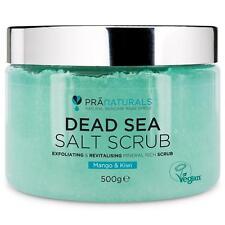 Orgánica Mar muerto sal Exfoliante Mango & Kiwi Perfumado Exfoliante/Revitalizante de la piel
