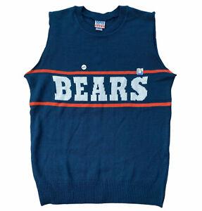 Junk food Chicago Bears sweater vest