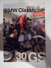 BMW CLASSIC LIVE SPECIAL SONDER AUSGABE 30 JAHRE GS