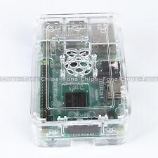 Acrylic Raspberry Pi Case (Transparent) - Updated for Raspberry Pi 3, 2 & B+