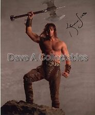 KEVIN SORBO genuine signed autographed photo as KULL THE CONQUEROR