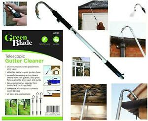 Extendable Telescopic Gutter Cleaner Tool Pole Washer Drain Garage Conservatory