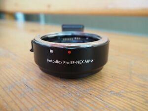 Fotodiox Pro Canon EF-(S) Auto Focus auf Sony NEX / E-Mount