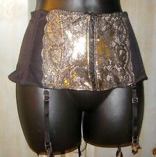 Victoria Secret Very Sexy Corset Laces Crystal Garter Waist Cincher Size M-L