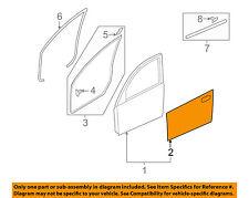 MAZDA OEM 14-15 3 Front Door-Applique Window Trim Left BHS250M20A