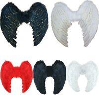 Angel Wings Devil Fairy Halloween Fancy Dress Costume Feather Large 60 x 40 UK