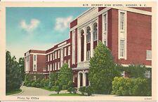 Hickory High School Hickory NC Postcard