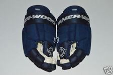 "Jacob Trouba Sher-Wood 14"" Bpm-120 Pro-Stock Gloves New Winnipeg Jets Blue"