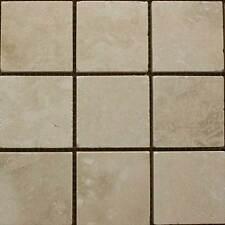 Light Cream Matt Travertine Mosaic Wall & Floor Tiles - SAMPLE