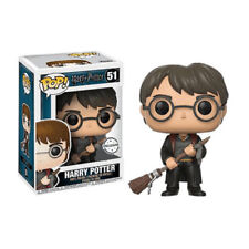 Funko Pop Harry Potter 51 Harry Potter with Firebolt & Feather Exclusive