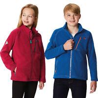 Regatta Kids Boys Girls Warm Full Zip Fleece Jacket RRP £30