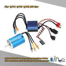 2838 3600KV 4P Sensorless Brushless Motor & 35A ESC for 1/16 RC Car Newest R47M