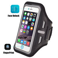 For iPhone XR/XS Max/X/7/8 Plus Sports Armband Arm Band Phone Holder Gym Jogging