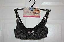 BNWT - M&S Limited Collection FUN & FLIRTY black mix Balcony Bra, Size 30DD NEW