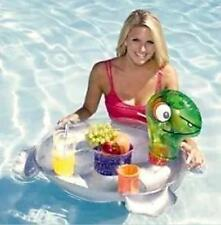 🌟Turtle Caddy Floating Bar - Snack Drinks Holder Chiller, Pool Float Cooler 🌟