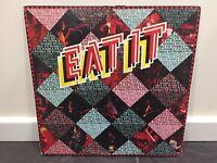 """HUMBLE PIE """"Eat It'"""" 2 x Vinyl LP - DELUX EDITION 1973 A&M SP-3701 - EX / VG+"""