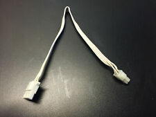 "Apple Macintosh II - WHITE RARE - Molex 2x2 to 1x4 10"" Hard Drive Power Cable A+"