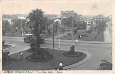 LOURENCO MARQUES - MAPUTO, MOZAMBIQUE, MAC-MAHON SQUARE, TROLLEY c 1904-14