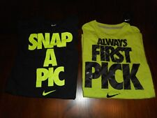 2 Youth Boy's Nike T-Shirts Size Xl *Snap A Pic, Allways First Pick Nwt