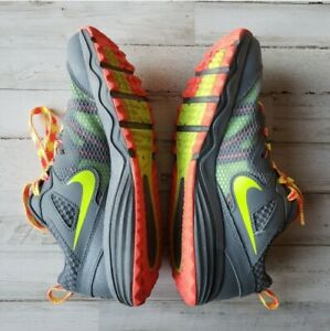 Nike Dual Fusion Gray Fitsole Running Shoes Sneakers Womens Size 8