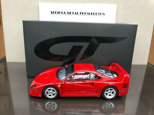 GT SPIRIT GT 291 FERRARI F40 RED 1987 1:18