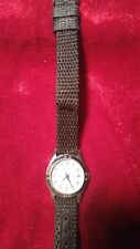 Vintage Ladies Watch-It Quartz Stainless Steel New Battery ezc3047